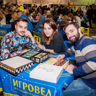Board game event in Moscow